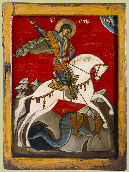 St. George on Horseback